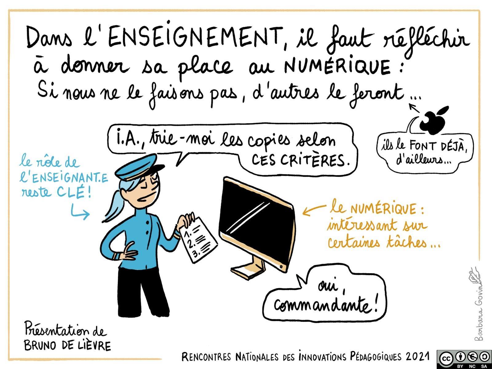 09. Bruno De Lievre - enseignement et numérique