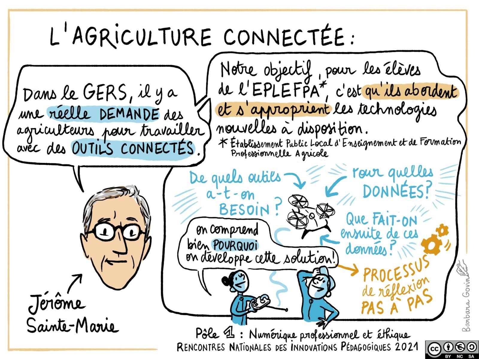 10. Pôle 1 -L\'agriculture connectée - Barbara Govin