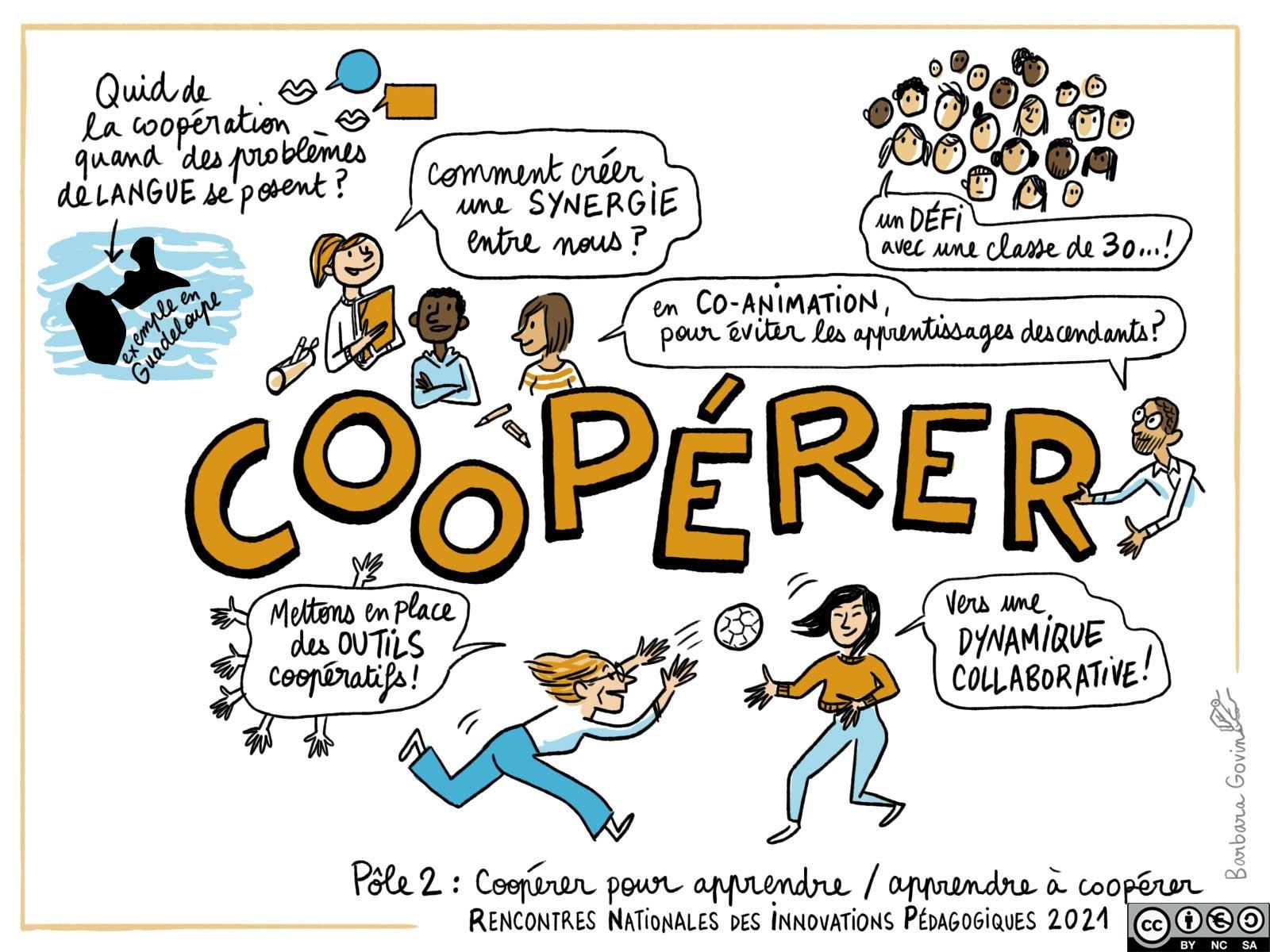 12. Pôle 2 - coopérer