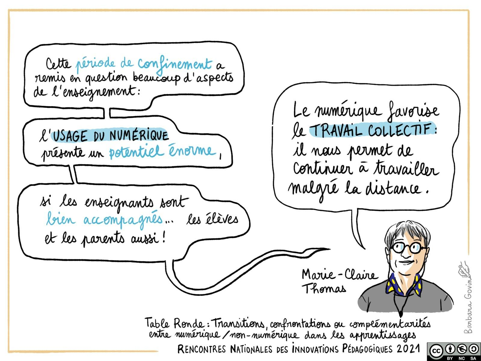 24. table ronde - Marie-Claire Thomas