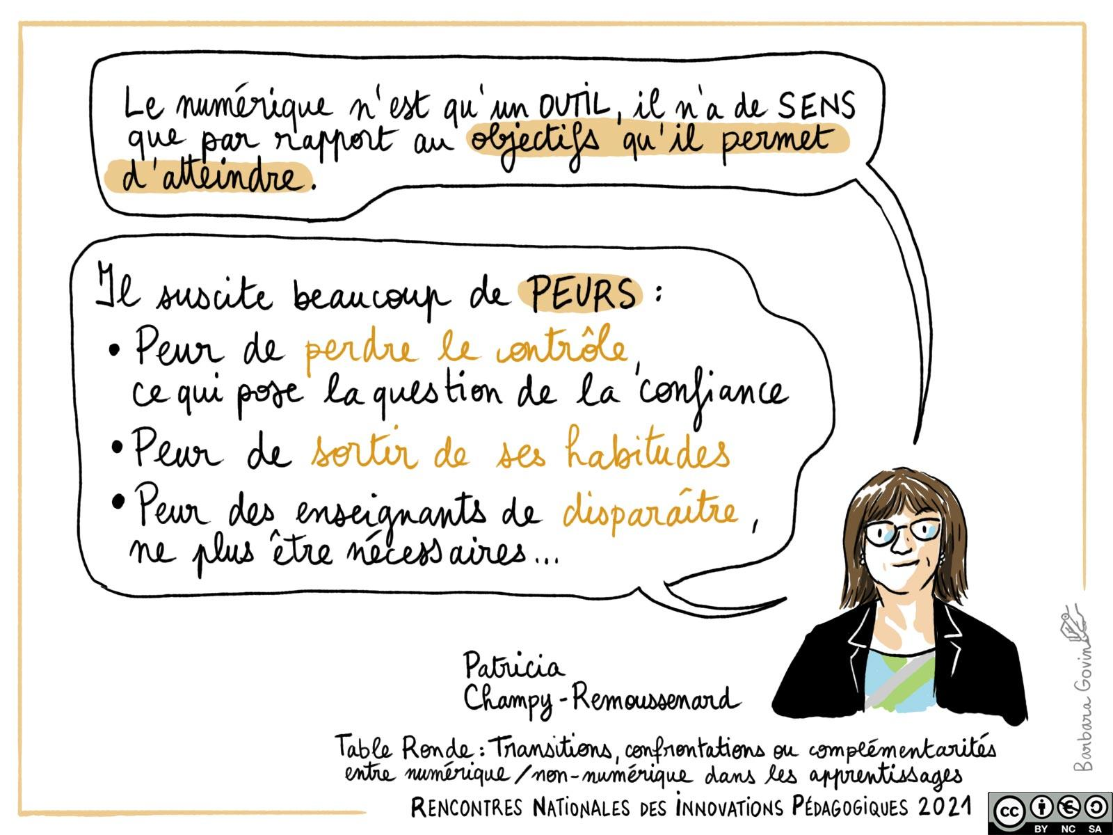 22. Table ronde - Patricia Champy-Remoussard